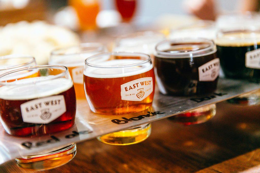 Các dòng bia craft hảo hạng tại East West Brewing