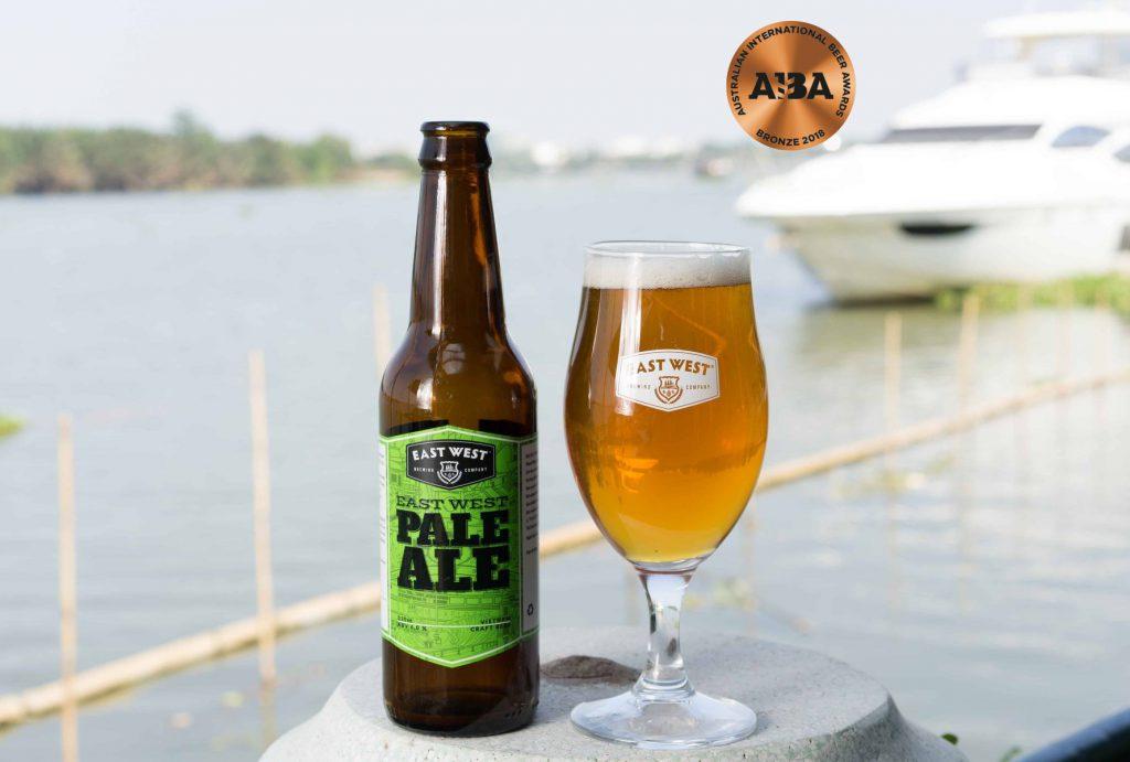 East West Pale Ale, loại craft beer được ưa chuộng nhất tại East West Brewing