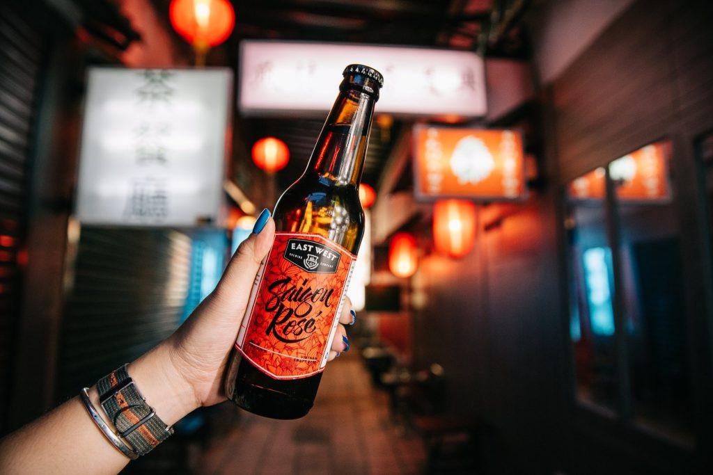 Saigon Rose, craft beer hương vị ngọt ngào dành cho nữ tại East West Brewing