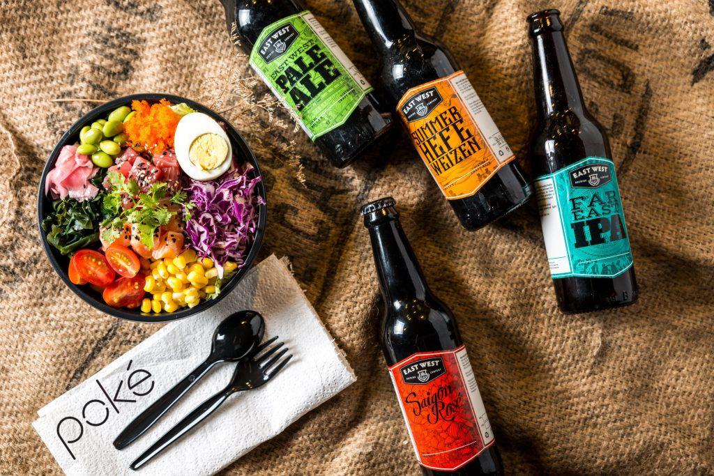 Bia ngon là điều bạn sẽ tìm được khi đến với East West Brewing