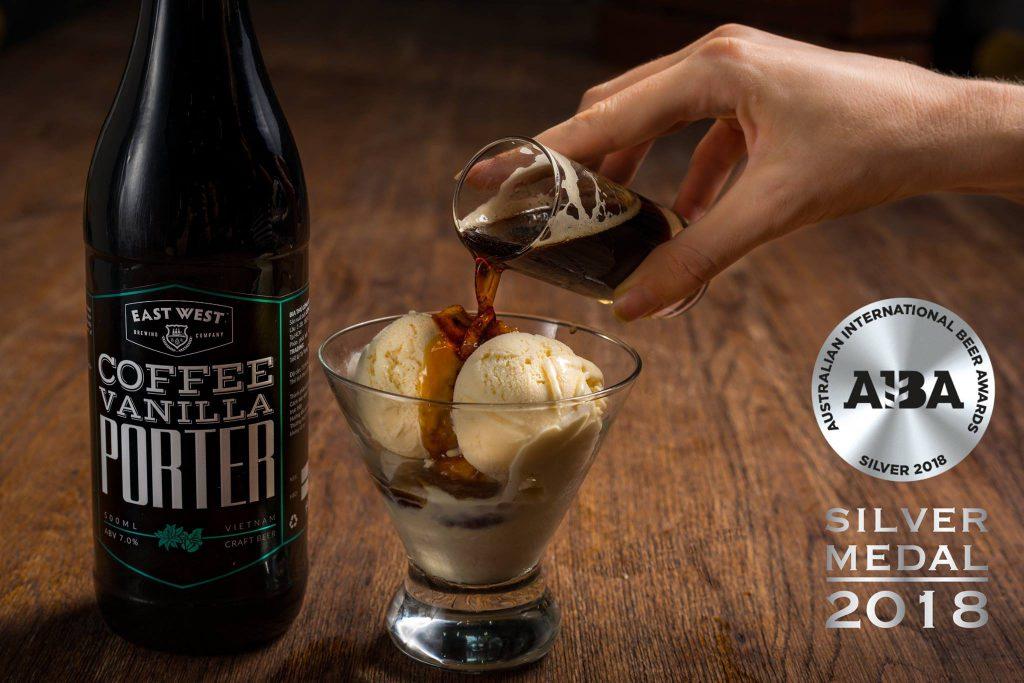 Coffee Vanilla Porter của East West Brewing đã đoạt giải Bạc tại Australian International Beer Awards 2019