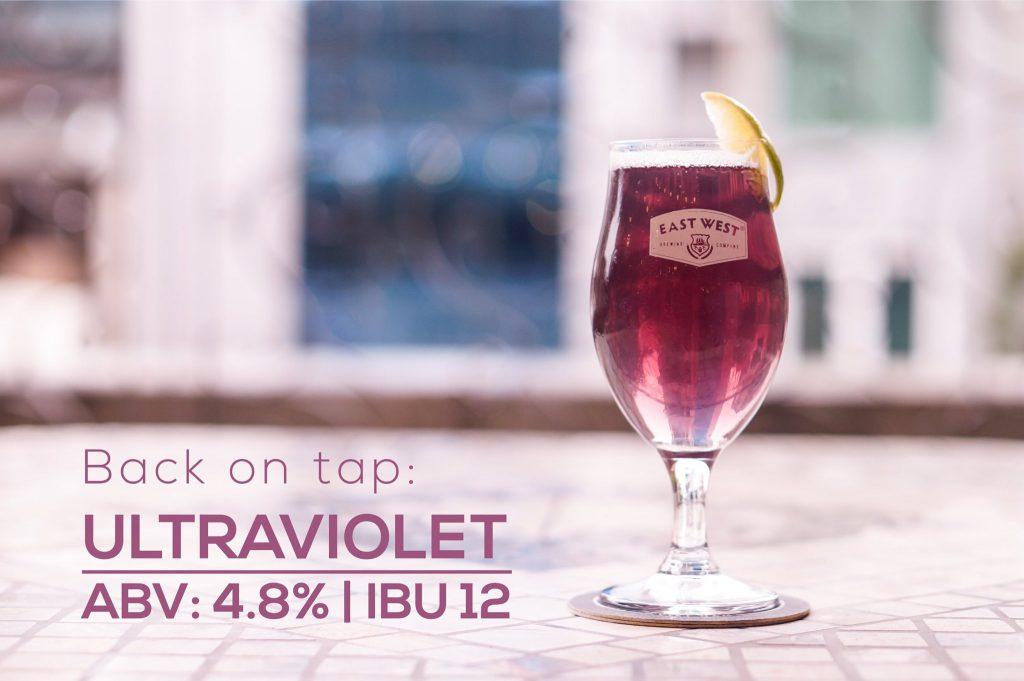 Ultraviolet được nấu đặc biệt cho dịp năm mới có màu tím rực rỡ tự nhiên