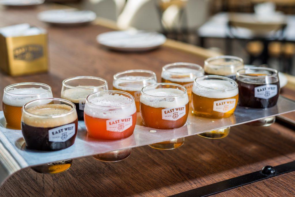Mười vị bia thơm ngon của bia craft saigon East West Brewing