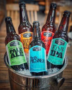 Bia thường được ướp lạnh để uống