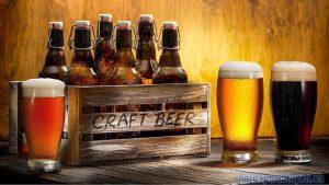 Bia craft có nhiều màu sắc và hương vị khác nhau