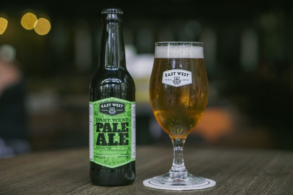 """Pale Ale với hương thơm và vị bia tươi mát """"bia craft đóng chai"""""""
