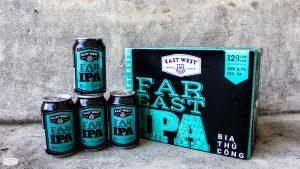 Far East IPA là sự kết hợp của các mùi thơm của các loại hoa bia hảo hạng