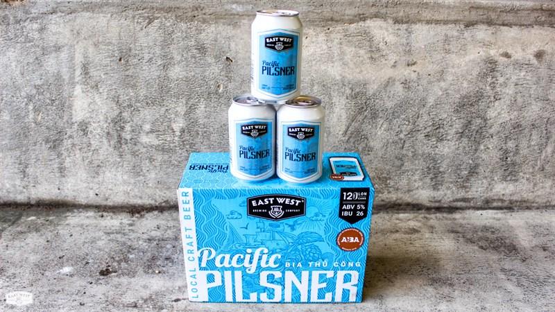 Pacific Pilsner thu hút những ai yêu thích vị đắng đậm đà đến từ hoa bia