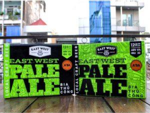 Những thùng bia East West Brewing luôn sẵn sàng giao đến tay bạn