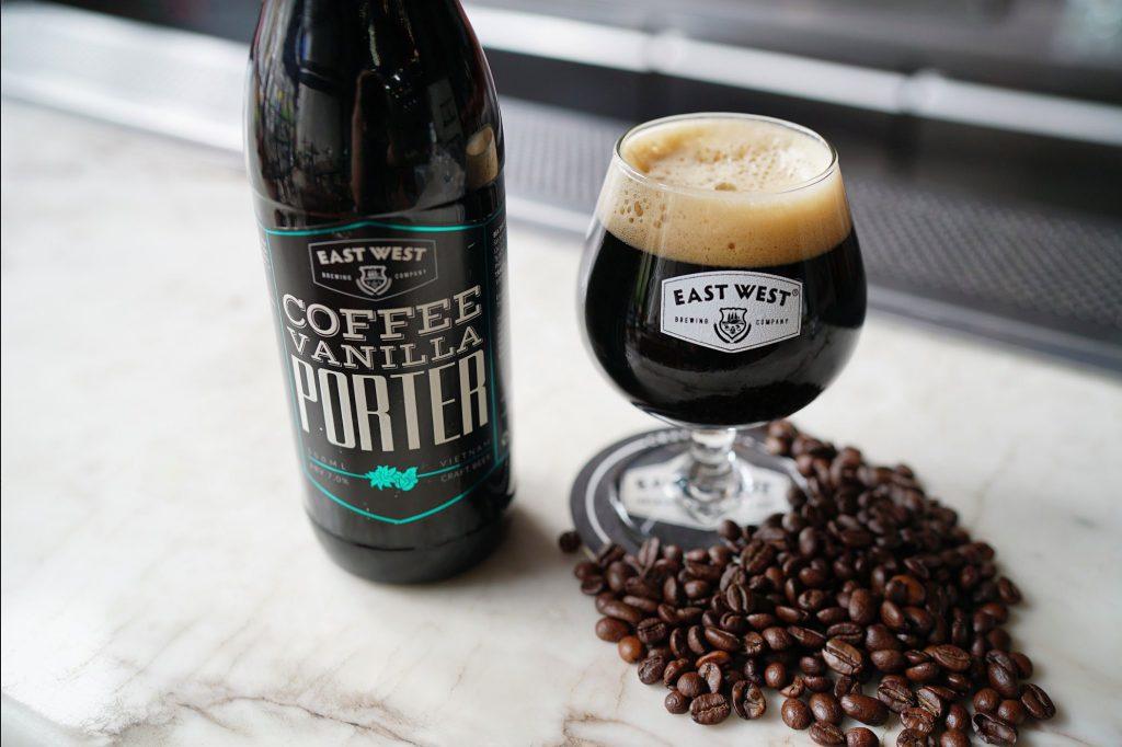 Coffee Vanilla Porter sự kết hợp giữa đại mạch và hương vị cà phê Việt