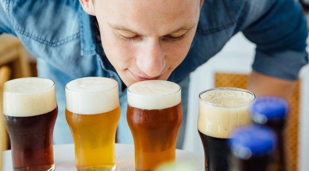 Mùi hương cũng rất quan trọng trong lúc uống beer craft