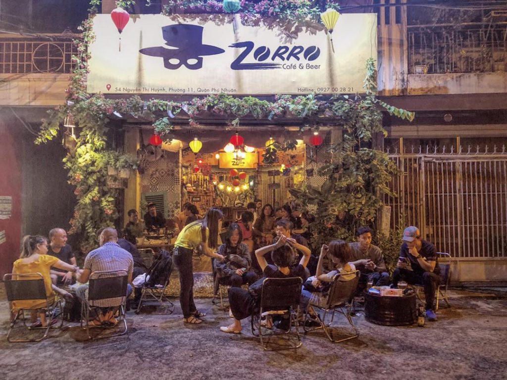 Không gian nhỏ nhưng chưa bao giờ vắng khách tại Zorro