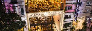 Nhà hàng East West Brewing trên đường Lý Tự Trọng